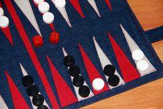 Backgammon selber machen: schnippschnapp-kragenab