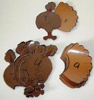 ABC and 123: Let's Talk Turkeys