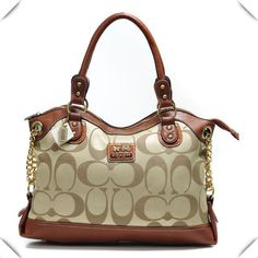 Look Here! Coach Legacy Pinnacle Lowell In Signature Large Khaki Satchels ADW Outlet Online Coach Handbags, Coach Purses, Coach Bags, Handbags 2014, Designer Handbags, Replica Handbags, Ladies Handbags, Trendy Handbags, Designer Purses