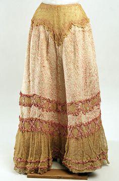 late 1890s Petticoat, Metropolitan museum of art