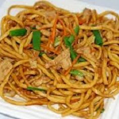 Lo Mein Noodles ~They were a big hit with the family!