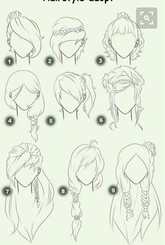 Cut Take Text Nullipara Girls Hairstyles How To Draw Manga Anime . - Cut Take Text Nullipara Girls Hairstyles How To Draw Manga Anime Hair # -
