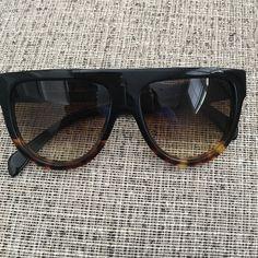 6c5ac734d7d Celine Sunnies Gorgeous pair of tortoise shell and black Celine sunglasses.  Has slight scratch on