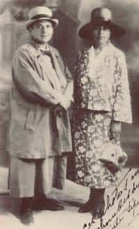 Gertrude Stein and Alice B. Toklas in Paris