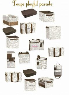 Taupe Playful Parade Collection http://www.thirtyone.com/cdmurray