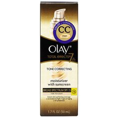 Best New Facial CC Cream - Olay Total Effects Tone Correcting CC Cream with Sunscreen Broad Spectrum SPF 15