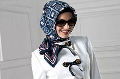 Turkish hijab style.