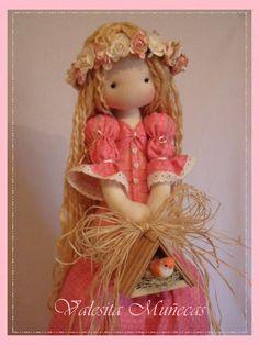 I will make a doll like this for my daughter When i have one. Bjd Doll, Doll Toys, Baby Dolls, Pretty Dolls, Cute Dolls, Beautiful Dolls, Tilda Toy, New Dolls, Dolls Dolls