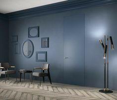 Questo genere di porte permettono di non interrompere la continuità con le pareti nelle quali sono applicate. #portafilomuro #portaverniciabile #portacolorata #portainterna