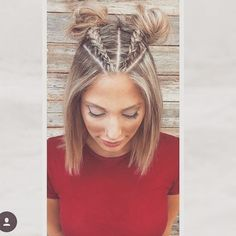Top 100 latest hairstyles photos Braided piggy tails done by my boo @shaunas_big_tease @colourcollections and colour by my besty @kateanderson27 at hairmoves @hairmoves_by_deen_mos love u guys amazing hair gods! ❤ #besthairdressers #frankstonstylist #braids #latesthairstyles #shorthair #pigtails #goldwellaus #kmsau #goldwell See more http://wumann.com/top-100-latest-hairstyles-photos/