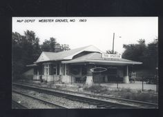 """""""The Station"""" -- MO-PAC depot on N. Gore upcycled to a nice little boutique -- well stocked with Villager goods, the popular brand of the day. I still have an elderly Villager purse.  Postcard from eBay"""