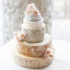 Cheese Wedding Cake from The Courtyard Dairy