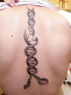 My son. He has also EDS and made himself this tattoo,   called: BROKEN DNA