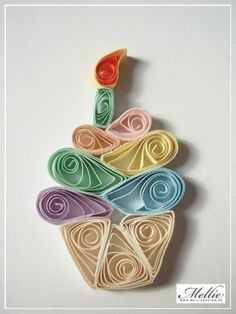 paper quilling bakery - Google Search