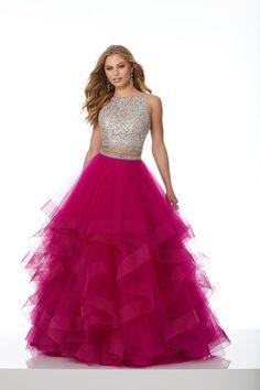 Mori Lee 42015 - Formal Approach Quinceanera Dresses, Homecoming Dresses, Bridesmaid Dresses, Wedding Dresses, Js Prom, Homecoming Ideas, Prom Gowns, Wedding Outfits, A Line Evening Dress