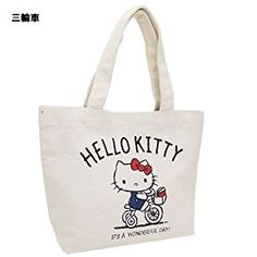 db3bb506f654 Amazon.com  K Company Sanrio Hello Kitty Mini Tote Bag Kitty on Tricycle