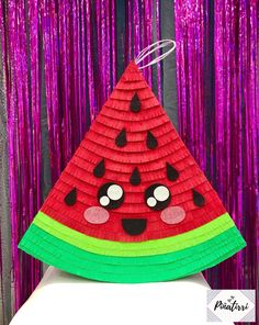 First Birthday Pictures, First Birthday Themes, 11th Birthday, 1st Birthday Parties, First Birthdays, Watermelon Party Decorations, Watermelon Birthday Parties, Fruit Party, Pinata Party