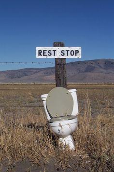 Redneck rest area