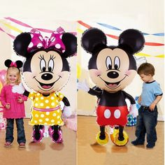 Minnie Mouse Geburtstagsparty 45.7cm Helium Folienballon