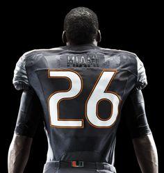 Miami Hurricanes football uniforms