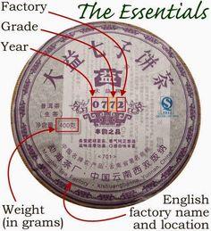 The Complexities of Pu-erh Cake Labels Yerba Mate, Pu Erh Tea, Tea Culture, Tea Companies, Tea Art, Chinese Tea, Tea Ceremony, Drinking Tea, Tea Labels