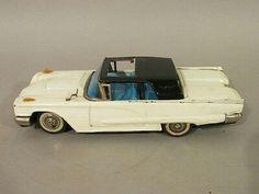1950s BANDAI Ford THUNDERBIRD Friction TIN LITHO Japanese TOY CAR w SUNROOF  $42.57Approx NOK354.66   4 bids