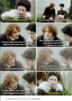 """""""Take me home"""" - Claire and Jamie #Outlander"""