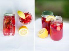 Electric Summer   Strawberry Lemonade Cocktail
