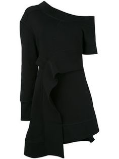 asymmetric sweat dress