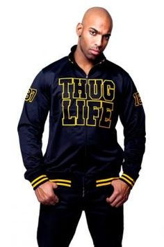 Thug Life Track Jacket L