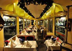 Fondue Tram, Zurich, Switzerland    Hop aboard Zurich's steamy fondue tram, a seasonal pop-up stübli that runs from October to March along the city's actual tram routes, whizzing past Christmas markets,