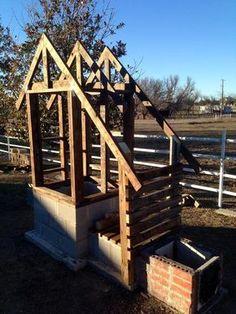 My cedar smokehouse build Build A Smoker, Diy Smoker, Homemade Smoker, Barbecue Smoker, Smoke House Plans, Smoke House Diy, Outdoor Oven, Outdoor Cooking, Backyard Smokers