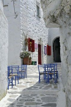 Amorgos Island, Greece  Captivating Contrast http://www.artofncook.com/