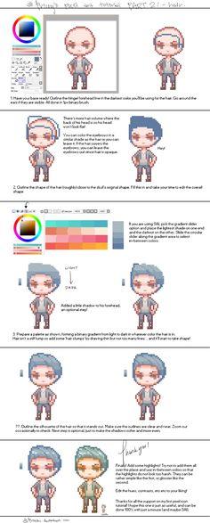 Pixel art tutorial 2 by pricechi.deviantart.com on @DeviantArt