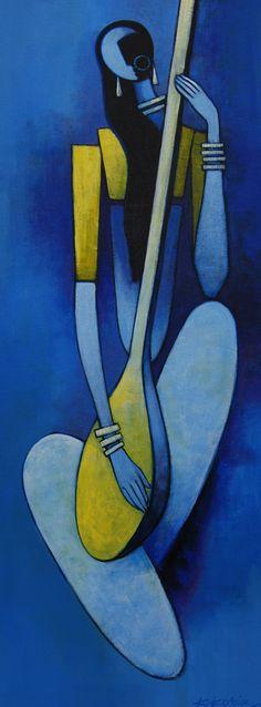 Artwork by Kamal Koria – Britsh Asian Artist – Kamal Koria is British Indian Artist who has worked as a contemporary artist since 1990 Indian Art Paintings, Modern Art Paintings, Indian Folk Art, Indian Artist, Indian Contemporary Art, Contemporary Artists, Tableau Pop Art, Afrique Art, Madhubani Art
