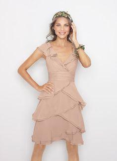beige dress for my brides-maides