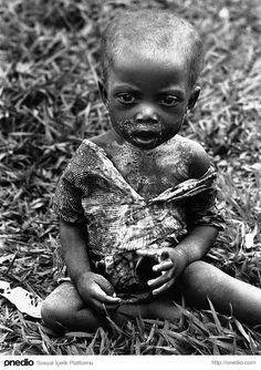 Savaş koşullarında yaşam mücadelesi vermeye çalışan bu çocuk için