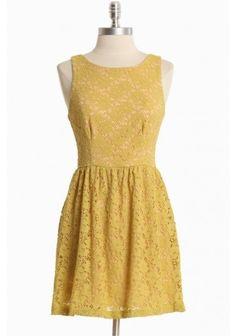 Afternoon Sunshine Lace Dress, shopruche.com, Price Range: $ by ronda