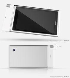 Sony XTRUD Concept Phone by Francois Rybarczyk » Yanko Design