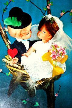 Vintage Italy Migliorati La Birinchina Doll Blonde от ggsdolls Vintage Italy, Vintage Dolls, Doll Toys, Postcards, Antique Dolls
