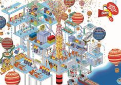 WHERE SKITTLES COME FROM by IC4DESIGN, via Behance