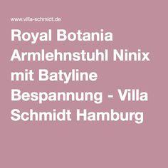 Royal Botania Armlehnstuhl Ninix mit Batyline Bespannung - Villa Schmidt Hamburg