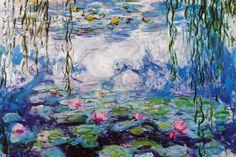 """Nympheas"" - canvas print by Claude Monet"