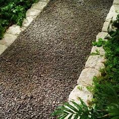 Neat gravel walkway (© BobVila.com) - https://www.facebook.com/different.solutions.page