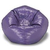 Found it at Wayfair - Large Purple Shiny Bean Bag Chair