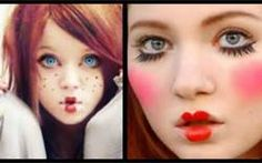 doll makeup -google search-