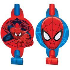 Spider-Man Blowouts from BirthdayExpress.com