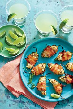 26 Easy Outdoor Appetizers | Perfect for entertaining outside, this finger food collection features meats served straight off the grill and cool dips with no-fuss presentations. Longer days mean more time to eat outdoors, and who doesn't love an easy outdoor appetizer you can enjoy at barbecues, picnics, and tailgates? This season, commit to learning how to cook some of our easy summer appetizers. We've got a smorgasboard of options to suit any taste bud.