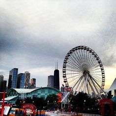 Went to Navy Pier today while at Northwestern. Loved it, and had so much fun:)