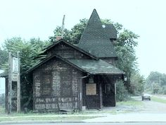 old train station in barberton, ohio .